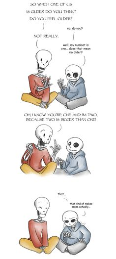 Papyrus doesn't like it when Sans plays pranks on him, but given his love for japes, I like thinking he'd enjoy playing pranks with Sans on other people. Edit - Check out Rythmear's dub! Sans, Papy...