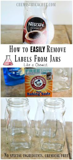 on How to Remove Labels From Jars the easy way! No special ingredients needed and it only takes two steps! This is how we…Tutorial on How to Remove Labels From Jars the easy way! No special ingredients needed and it only takes two steps!