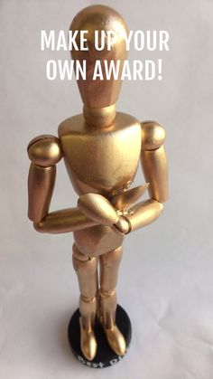 DIY Oscar Statue