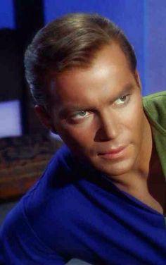 William Shatner as James T. Kirk.