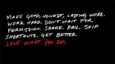 Love What You Do by Frank Chimero