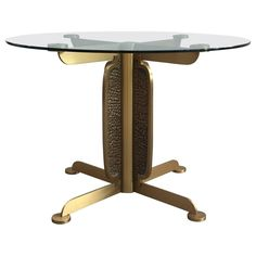 Amazing Dining Table by Luciano Frigerio
