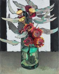 From Sophie Gannon Gallery, Adam Pyett, Silver Princess Gum flowers Oil on linen, × 61 cm Art And Illustration, Art Floral, Still Life Art, Australian Art, Paintings I Love, Abstract Flowers, Botanical Art, Art And Architecture, Love Art