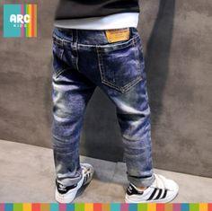 HE Hello Enjoy Boys pants jeans 2016 Fashion Boys Jeans for Spring Fall Children's Denim Trousers Kids Dark Blue Designed Pants Baby Girl Jeans, Girls Jeans, Fashion 2017, Boy Fashion, Denim Pants, Trousers, Stylish Boys, Boys Pants, Girl Outfits