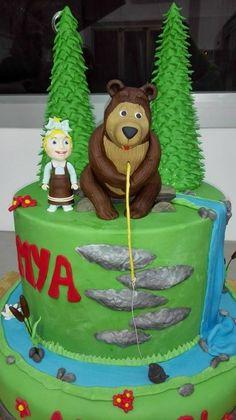 masha e orso cake - www.milliscake.jimdo.com