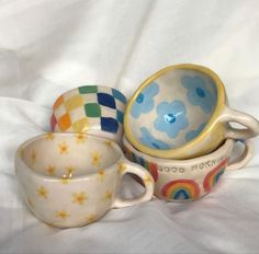Ceramic Clay, Ceramic Pottery, Pottery Art, Diy Clay, Clay Crafts, Arts And Crafts, Pottery Painting, Ceramic Painting, Keramik Design