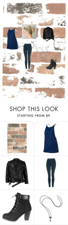 """""""Walls (Airspoken)"""" by mercy-xix ❤ liked on Polyvore featuring Wall Pops!, Puma, VIPARO and Topshop"""