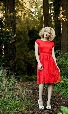 The Red Queen Dress / Shabby Apple