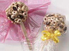 Snacks on Sticks Recipe from Cheerios
