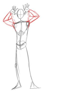 Sometimes when we draw arms doing anything other than hanging down at a characters sides. We have trouble making the fore and upper arm the correct length. May not work 100% all the time, but works well for simple hand/arm placement