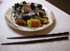 Seaweed and sushi. Rowing A Pair of Red Clogs. | Creekside Learning.