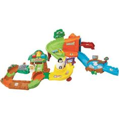 VTech Go! Go! Smart Animals Fun at the Zoo Play Set