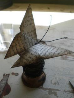 Origami Butterfly by colleen