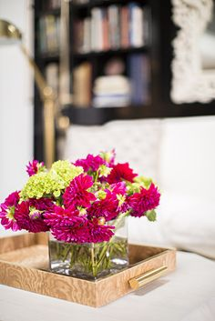 OK, OK. Compared to the rest of this list, flowers aren't necessarily an essential, but by the time you've hit 30, you deserve them. They're that little touch of luxury that won't kill your budget but help to make a house a home — trust us.  Source: Domino