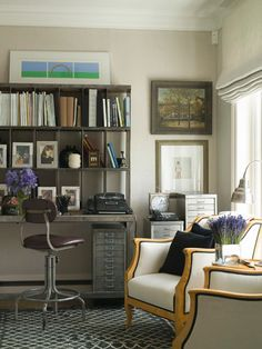 - Work Happily with These 50 Home Office Designs -- For Men . – Work Happily with These 50 Home Office Designs — For Men Organization Ide Office Office, Cool Office, Home Office Space, Home Office Design, Home Office Decor, Office Designs, Home Decor, Office Ideas, Blue Office