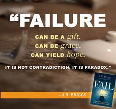 What do we do when we've failed? J.R. Briggs, founder of the Epic Fail Pastors Conference, explores the landscape of failure, how it devastates us and how it transforms us. Without offering pat answers or quick fixes, he challenges our expectations of success and gives us permission to grieve our losses and receive the grace of healing and restoration.