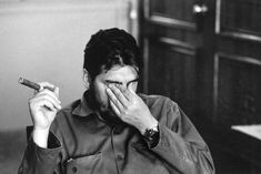 HISTORY: Photo of Ernesto (Che) Guevara, Argentinian politician, Minister of industry during an exclusive interview in his office, (Photo © René Burri / Magnum Photos) Che Guevara Images, Cuban Leader, Ernesto Che Guevara, Elliott Erwitt, The Third Man, Fidel Castro, African Print Dresses, Saint George, Magnum Photos