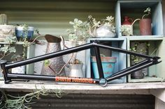 S&M Bikes BTM XL Frame Bmx Frames, Bb Style, Rear Ended, Anchor, Bike, Bicycle, Bicycles, Anchors