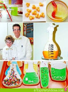 Mad Scientist party theme