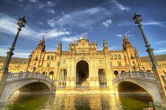 The beautiful Plaza de España in Seville. Want to enjoy Andalucia? www.ruralidays.com by @ruralidays