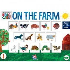 Eric Carle's on the Farm: Animal Sounds and More is an interactive iOS book app that introduces kids to 25 animal sounds