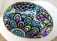 Super cute painted rock