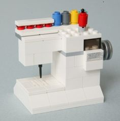 LEGO sewing machine -it's never too early to start loving your sewing machine.