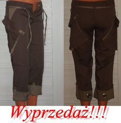 Spodnie damskie typu bojówki L-40