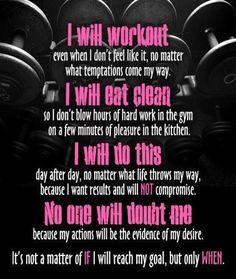 Fitness Motivation @Charlotte Willner Perrow we need to remember this!