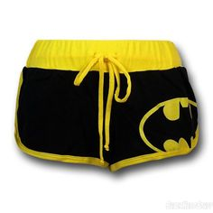 Batman Juniors Short Shorts