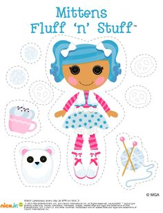 Lalaloopsy Mittens Fluff 'n' Stuff Farm Birthday, 1st Birthday Parties, Bug Crafts, Paper Crafts, Construction Birthday Parties, Construction Party, Hungry Caterpillar Party, Lalaloopsy Party, Cute Clipart