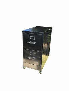 vintage file cabinet old stackable thre file by dsartereno on Etsy