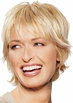 - Peinados y pelo 2017 para hombre y mujeres Hair Styles For Women Over 50, Hair Styles 2014, Short Hair Cuts For Women, Medium Hair Styles, Short Hair Styles, Short Hairstyles Over 50, Short Layered Haircuts, Haircuts For Fine Hair, Bob Hairstyles