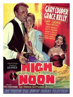 grace kelly movie posters   high noon gary cooper grace kelly movie poster   Flickr - Photo ...