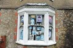 PIC OF THE DAY 14.11.13: ELVIS FAN: A front window in Abersychan Pic: MARK LEWIS