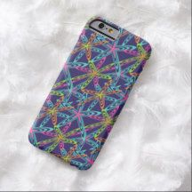Fun Abstract Modern Colorful Fantasy Pattern Design iPhone 6 Case
