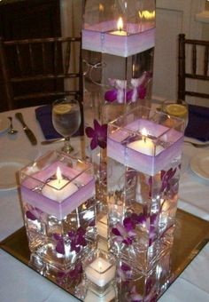 Purple candles or white candles like this? Hmmm.