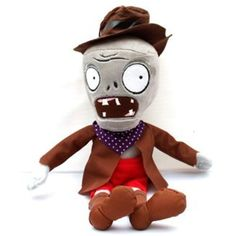 "Plants Vs Zombies 2 Series Plush Toy Cowboy Zombie 30cm/12"" ** Want to know more, click on the image. (This is an affiliate link) #PlushFigures"