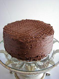 Nedra's Whole Wheat Chocolate Cake