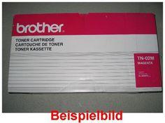 Brother TN-02 M Lasertoner Magenta / Rot, -B  - für Brother HL-3400 CN / HL-3450 CN Series    Zur Nutzung für private Auktionen z.B. bei Ebay. Gewerbliche Nutzung von Mitbewerbern nicht gestattet. Toner kann auch uns unter www.wir-kaufen-toner.de angeboten werden.