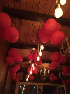 Valentine decor ❤️ pre wedding dinner #love#red#heart