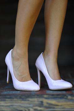 Pretty In Pink Heels: Light Pink