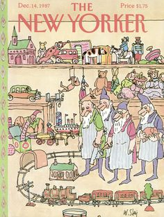 The New Yorker - Monday, December 14, 1987 - Issue # 3278 - Vol. 63 - N° 43 - Cover by : William Steig