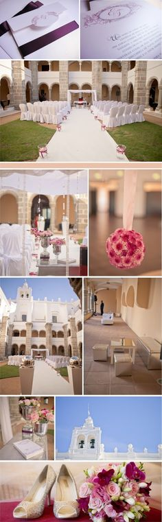 Our Lovely Pink World: CASAMENTO Liza & Fred - Convento do Espinheiro  Wedding Decoration by VISI VICI  https://www.facebook.com/VISIVICIprodutoresdesonhos