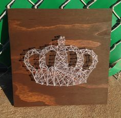 CROWN String Art by StringHeart on Etsy, $45.00