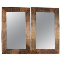 1stdibs - Pair of French Parchment Mirrors explore items from 1,700  global dealers at 1stdibs.com