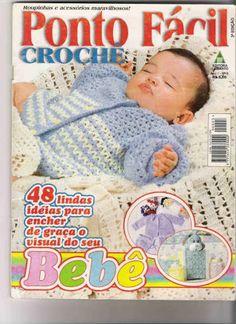 revista crochet bebe - Raquel - Álbuns da web do Picasa Crochet Bebe, Love Crochet, Crochet For Kids, Knit Crochet, Crochet Girls Dress Pattern, Crochet Patterns, Crochet Magazine, Crochet Books, Book Crafts