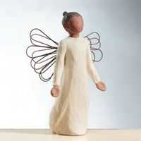 Angel of Grace by Willow Tree. May grace be with you wherever you go. (Find this and more at www.thoughtfulnessshop.com)