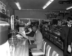 Sit-in at the Tallahassee Woolworth's lunch counter during the Civil Rights Movement.  (1960) | Florida Memory