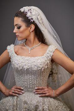 Aline Andrade barroco noivas